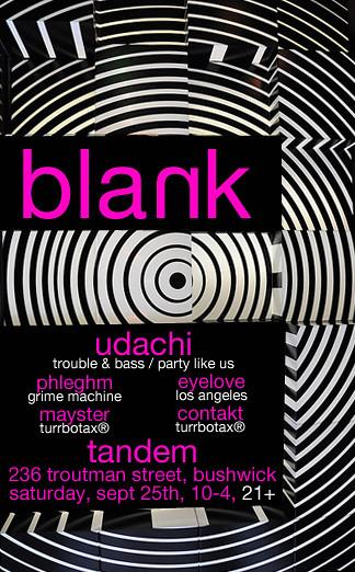 Mayster & Contakt @ Blank, September 2010