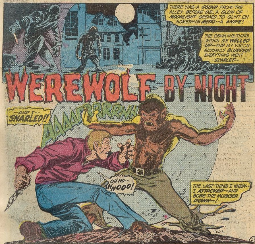 Werewolf by Night splash