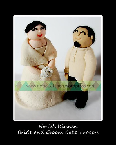 Norie's Kitchen - Filipiniana Bride and Groom Cake Toppers