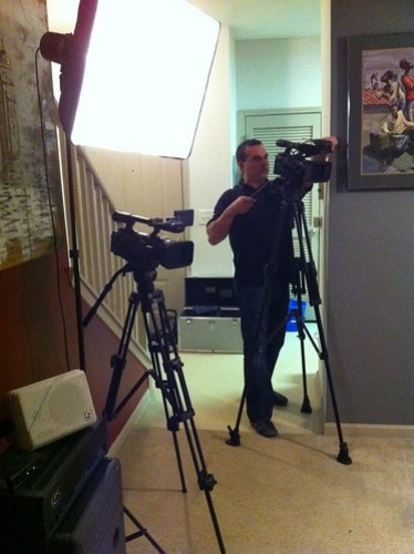 Behind the Scenes at a Premier Group Video Shoot