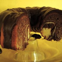 Bundts Gone Wild: Zebra Bundt Cake!