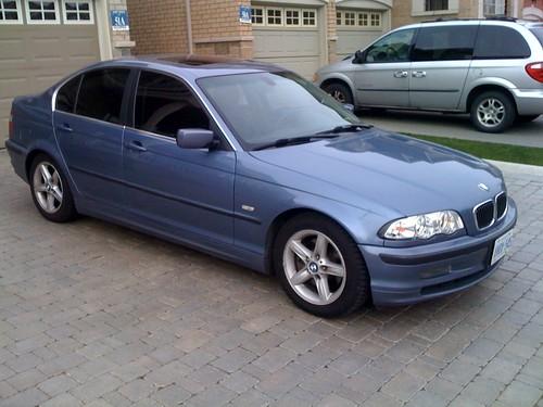 2000 328i Tinted Sedan Bmw