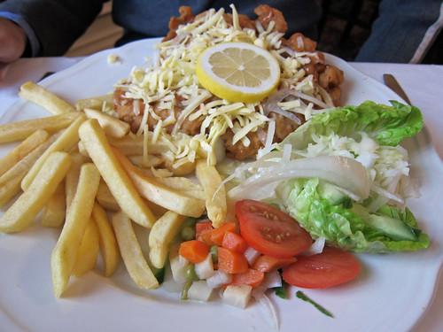 Czech Club Pork Schnitzel