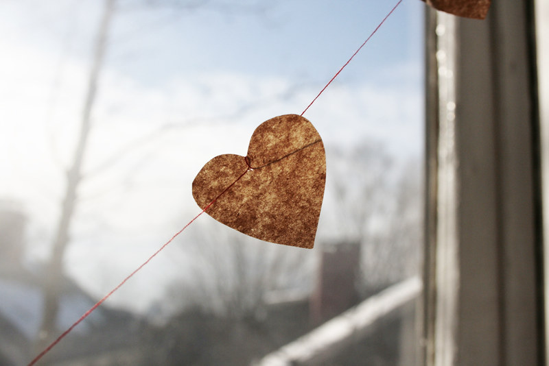 heart on a string