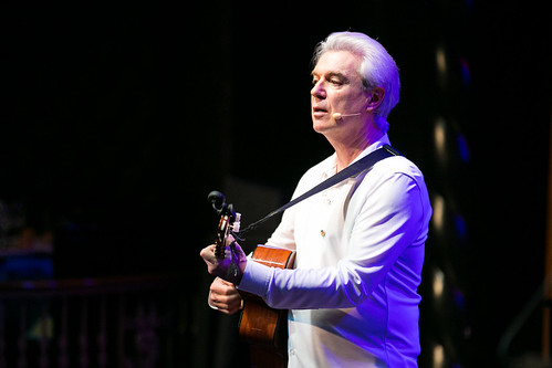 David Byrne performs at WITNESS' 25th Anniversary Benefit