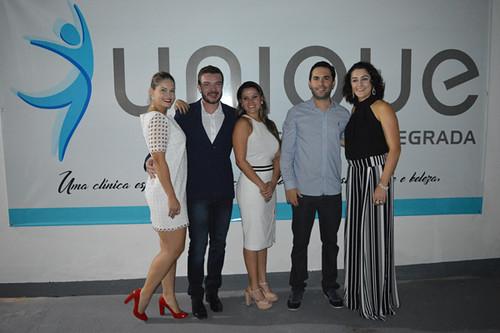 Jaqueline, Wandesson, Bárbara, Rafael e Carina