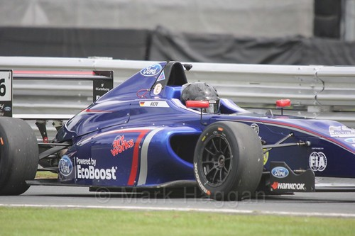 Lucas Alecco Roy in British Formula Four at Oulton Park, May 2017