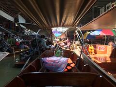 Traffic Jam at the Floating Market