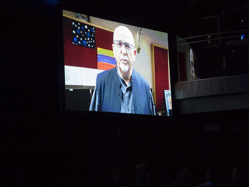 Musician, activist and WITNESS Co-founder Peter Gabriel shares a video message with guests