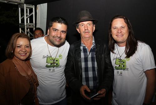 Dilma Fonseca, Relber, Lauro e Allan - Foto Wolmer Ezequiel