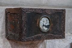 church collection box.