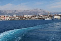 Split view from the ferry