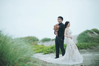 Pre-Wedding [ 中部婚紗 – 森林草原系列海邊 ] 婚紗影像 20160811 - 24