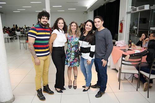 Equipe CDB VA Gustavo, Ione,    Daniella, Damille e Elder