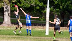 Troy Luff for Balmain Tigers V Norwest Sydney AFL May 2017 00011