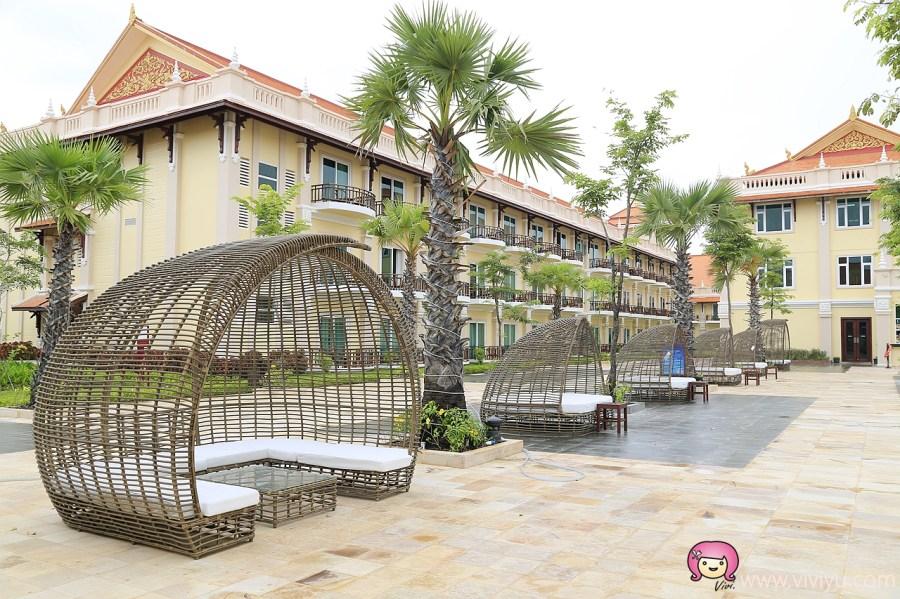 JC景成柬埔寨國際航空,Sokha Siem Reap Resort,吳哥窟,吳哥窟住宿,慶澤旅遊,新聖卡渡假村 @VIVIYU小世界