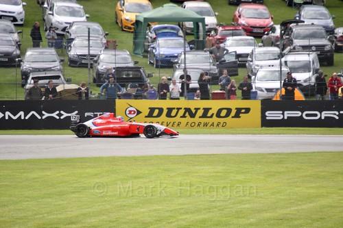 Ayrton Simmons in British Formula Four at Oulton Park, May 2017