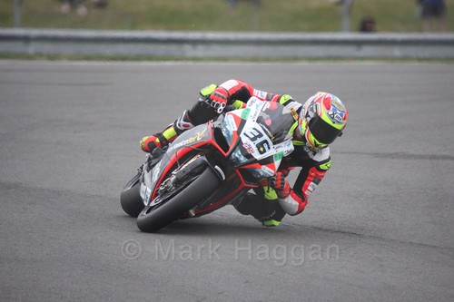 Leandro Mercado in World Superbikes at Donington Park, May 2017