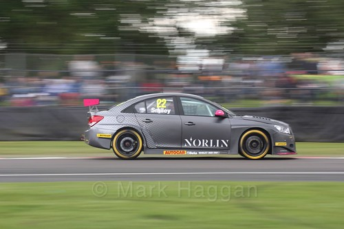 Chris Smiley in BTCC action at Oulton Park, May 2017