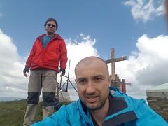 Selfie cu varful Penteleu