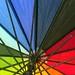 raindrops on my umbrella