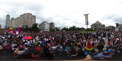 Panoramica marcha LGBTTTI 2017