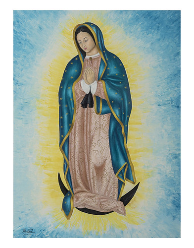 Autor: RUBEN ZAVALA RODRIGUEZ, Yo que soy tu Madre  80x60 cm