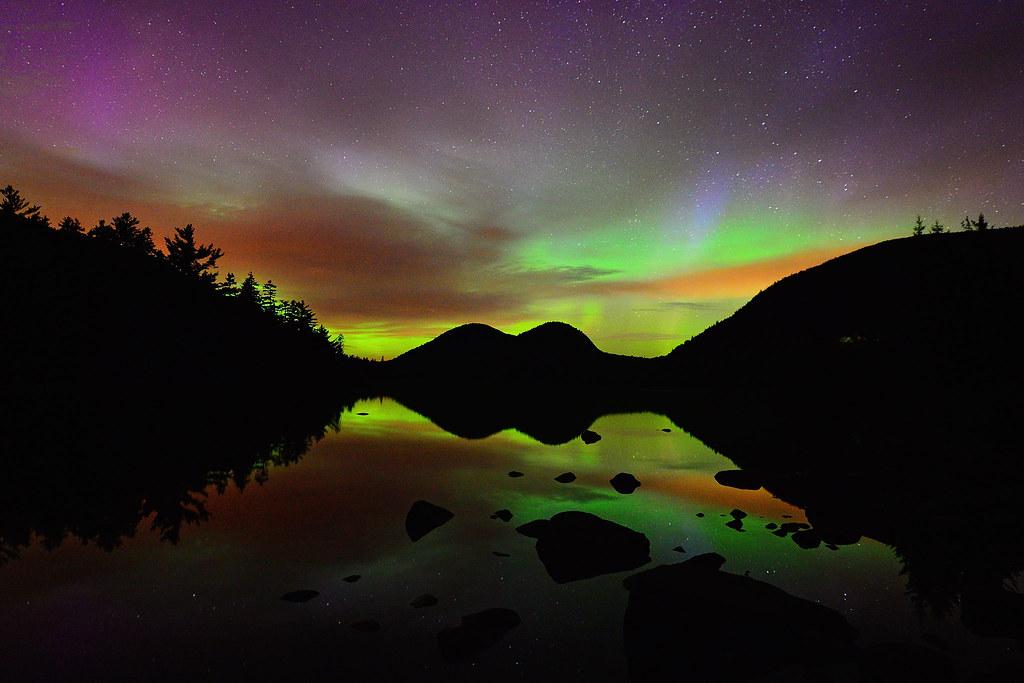 Northern Lights Lake Ontario
