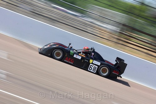 Robert Gillman in the Excool BRSCC OSS Championship at Rockingham, June 2017