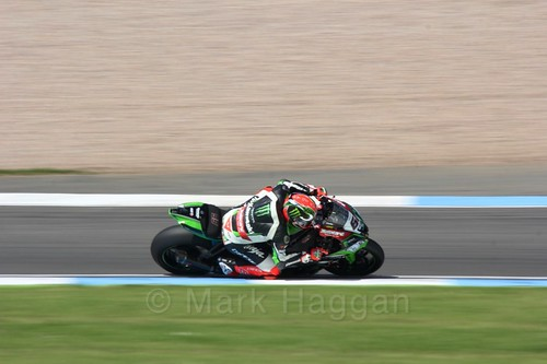 Tom Sykes in World Superbikes at Donington Park, May 2017