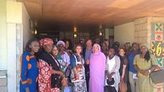 Rencontres, échanges,portrait de femmes d'exception se mobilisent sur la ville de Les Mureaux pour Jean-Marie Tetart Député sortant.