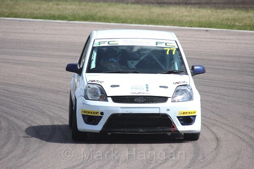 Josh Gollin in the Fiesta championship Class C at Rockingham, June 2017