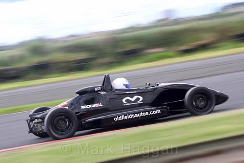 Ben Palliwoda in the Formula Ford FF1600 championship at Kirkistown, June 2017