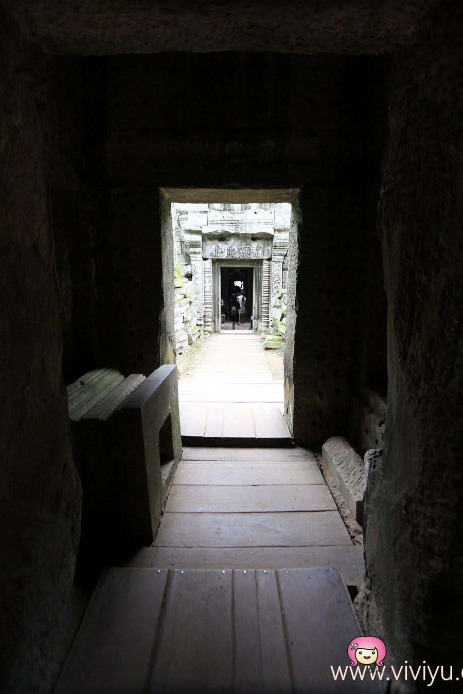 [柬埔寨.景點]吳哥窟.塔普倫寺Ta Prohm.闍耶跋摩七世建造~古墓奇兵、變型金鋼3電影場景地 @VIVIYU小世界
