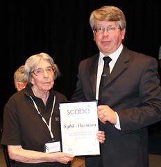 2017 scaba Ents - '50 Year Service Award' - Sybil Morrison
