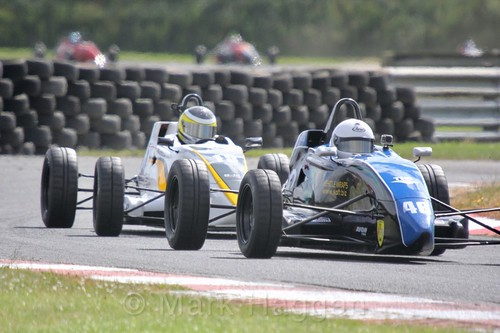 James Scott-Murphy in the Formula Ford FF1600 championship at Kirkistown, June 2017