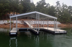 Double Slip Gable Roof Docks