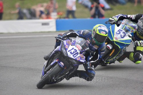Renzo Ferreira in World Supersport 300 at Donington Park, May 2017
