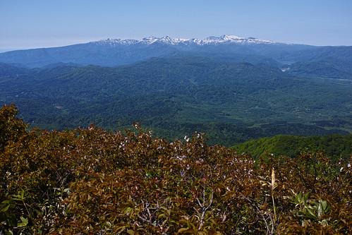 暑寒別連山 神居尻山山頂からの眺め