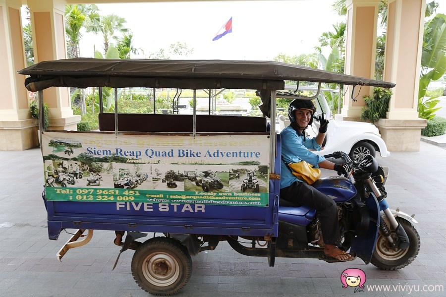 [柬埔寨.景點]吳哥窟新玩法.ATV四輪驅動越野車~騎著車繞過鄉間小路.認識不一樣的柬埔寨 @VIVIYU小世界