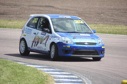 John Davidson in the Fiesta championship Class C at Rockingham, June 2017