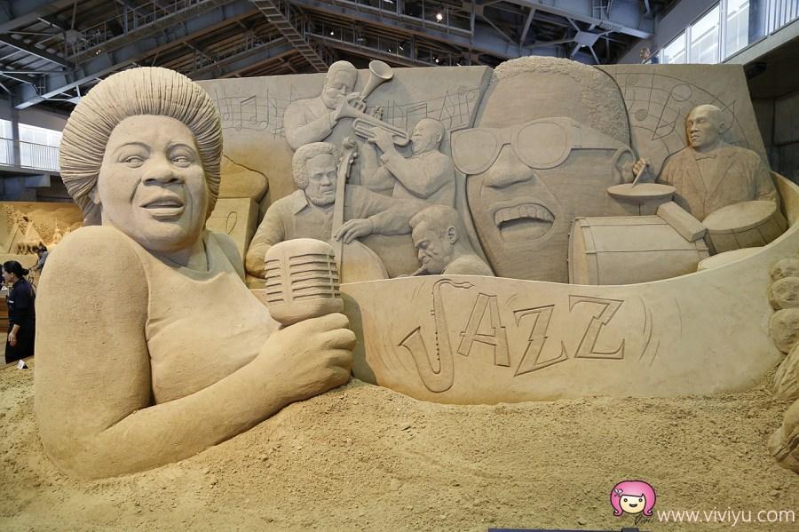 日本旅遊,沙雕,砂之美術館,鳥取砂丘,鳥取自駕 @VIVIYU小世界