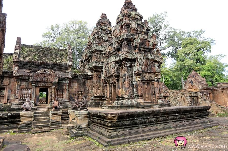 JC景成柬埔寨國際航空,吳哥窟,女皇宮,慶澤旅遊,濕婆宮 @VIVIYU小世界