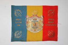 Drapelul Regimentului 4 Artilerie Roman - model 1922