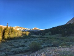 View from Leavick Mine at sunrise