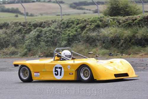 John McCandless in the HRCA Historic Sports Cars at Kirkistown, June 2017