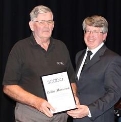 2017 scaba Ents - '50 Year Service Award' - Colin Morrison (2)