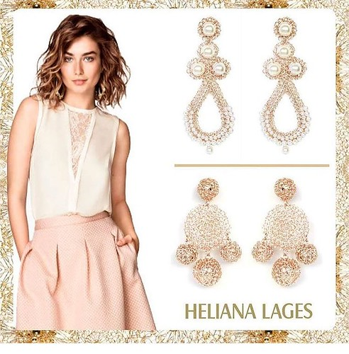Heliana Lages jóias em crochê