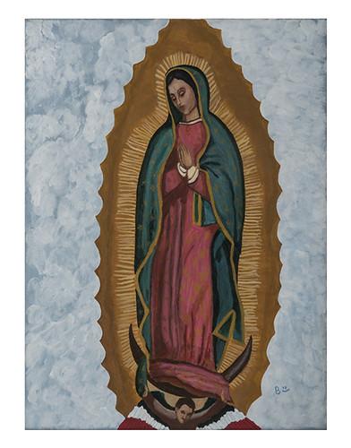 Autor: BERTHA GUADALUPE ALVAREZ PEREZ, Mi vida es tuya mi salvadora  60x50 cm