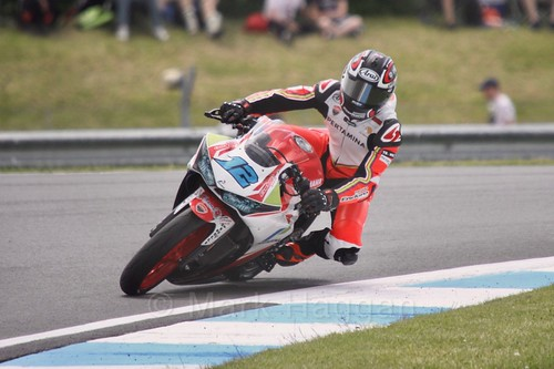 Ali Adriansyah Rusmiputro in World Supersport 300 at Donington Park, May 2017